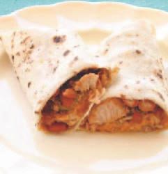 Chicharrón or Green Chili Burrito