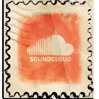 SoundCloud Vintage Stamp