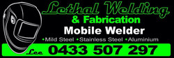 Lethal Welding