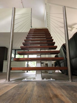 stainless stairs
