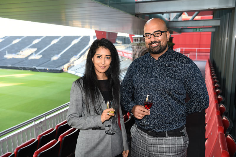 Two delegates at The Asian Media Awards
