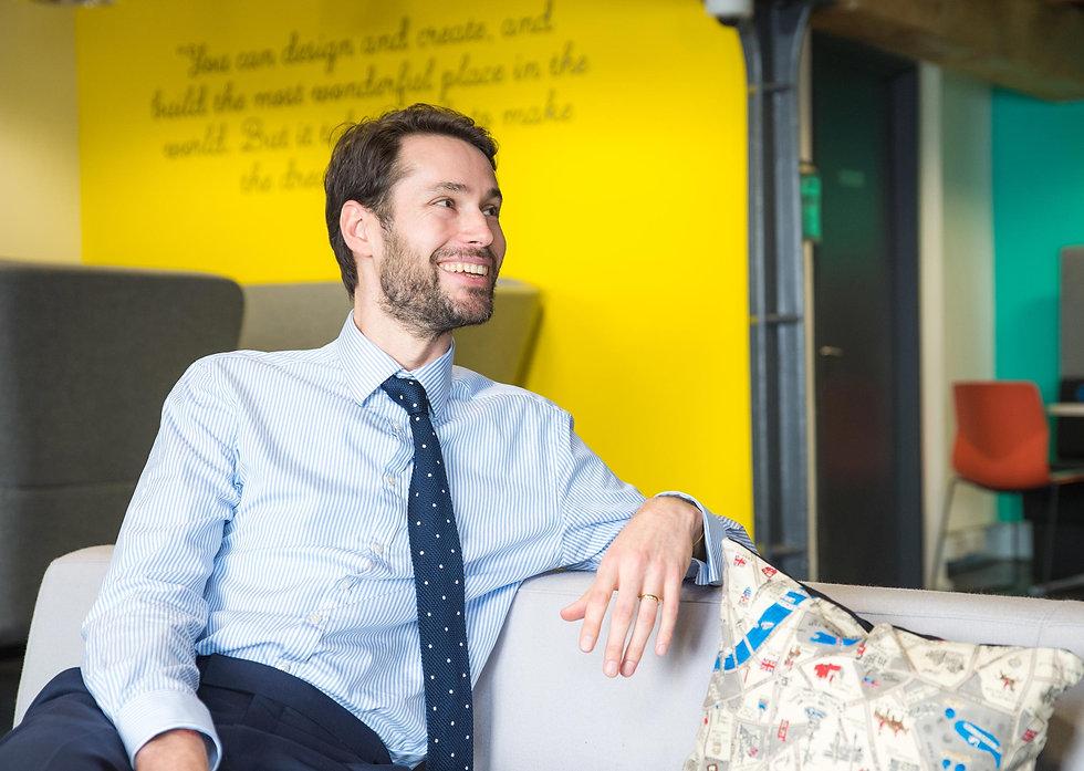 Portrait of ExCel London team member