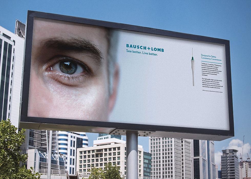 Outdoor advertising in America showcasing Stellaris tooling