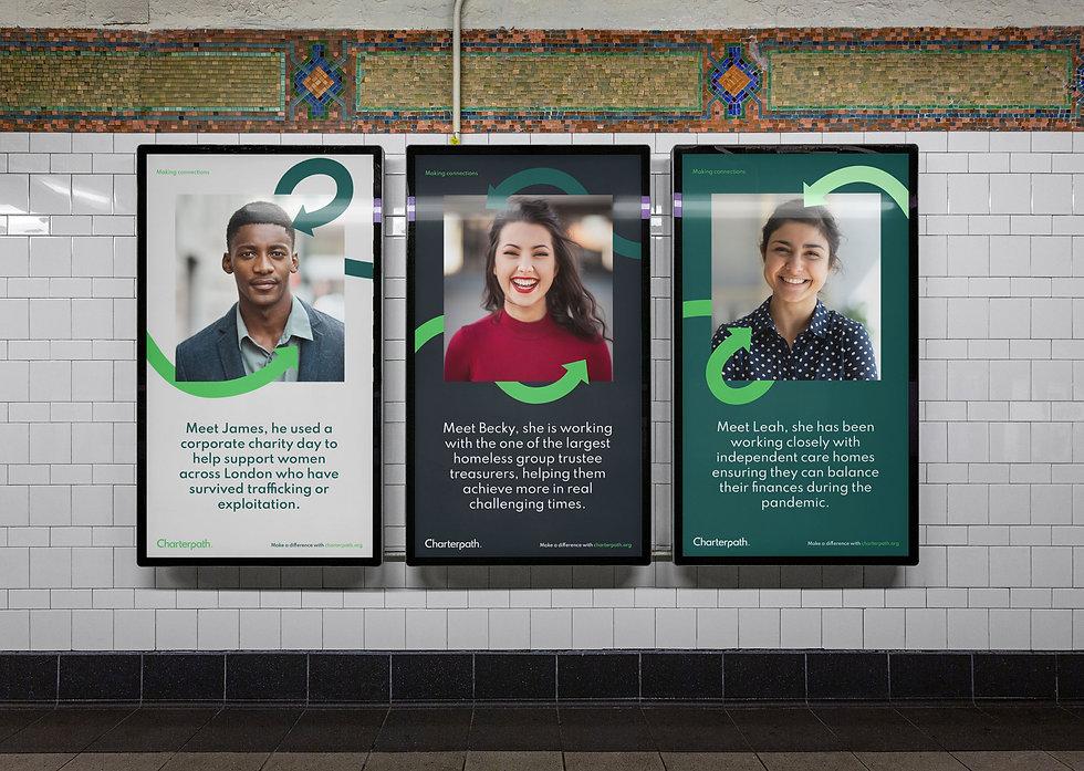 Charterpath London Underground poster designs