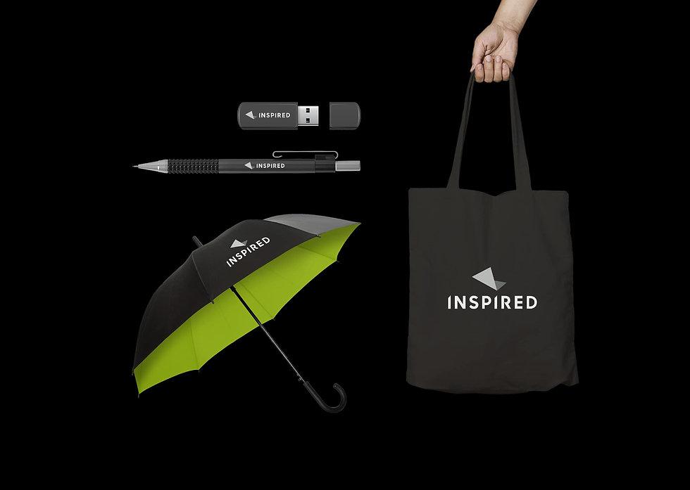 Inspired branded merchandise