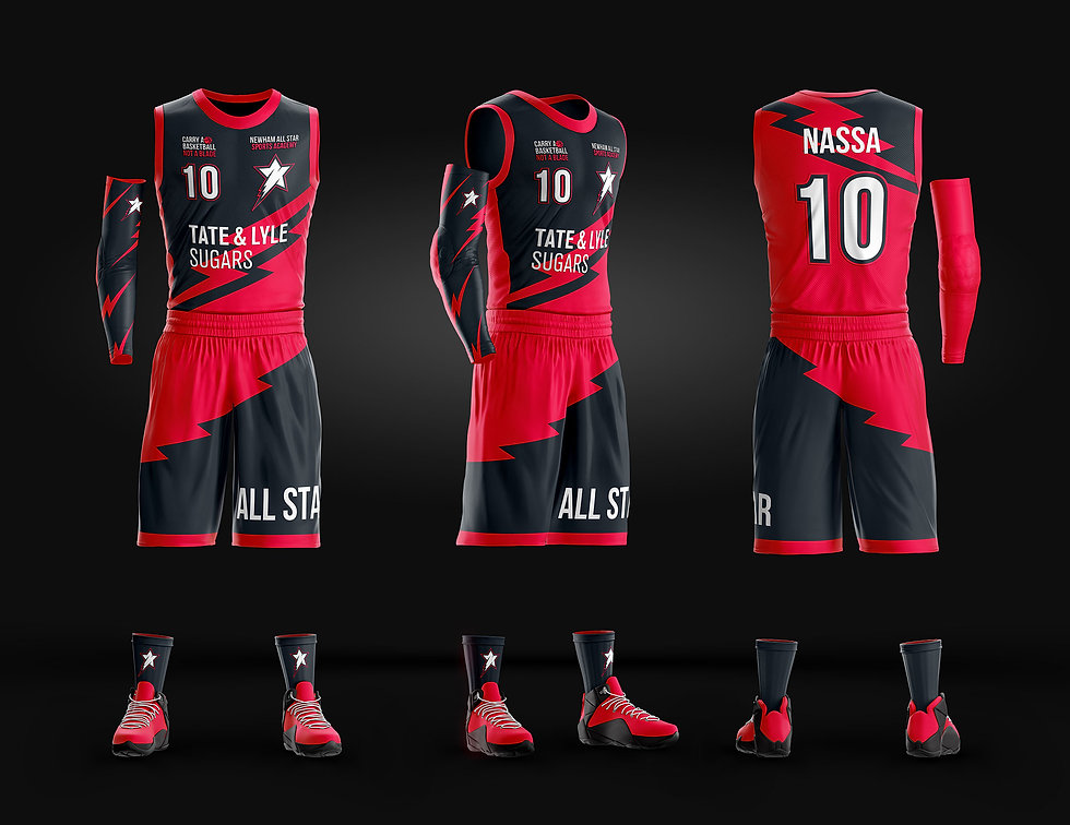 The new NASSA kids team kit design