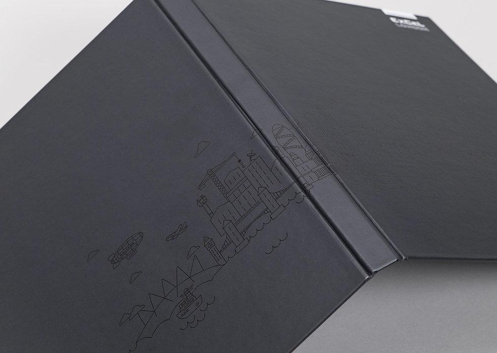 Spine of new visitor pack custom folder