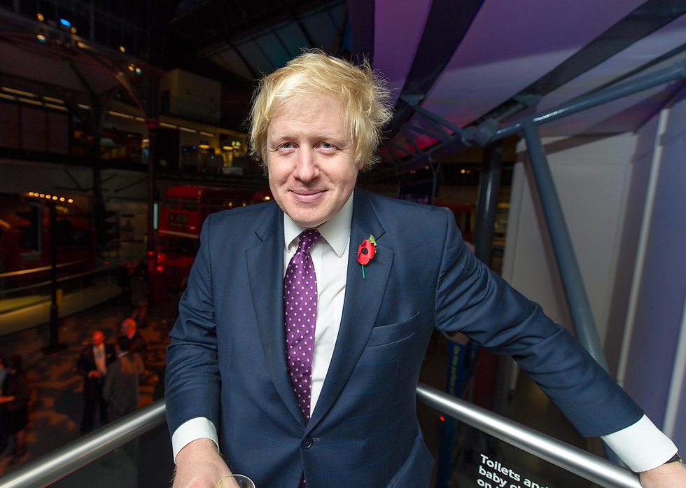 Boris Johnson at the evening standard event