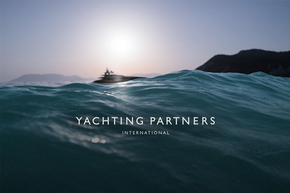 New Yachting Partners brand hero image of sea horizon
