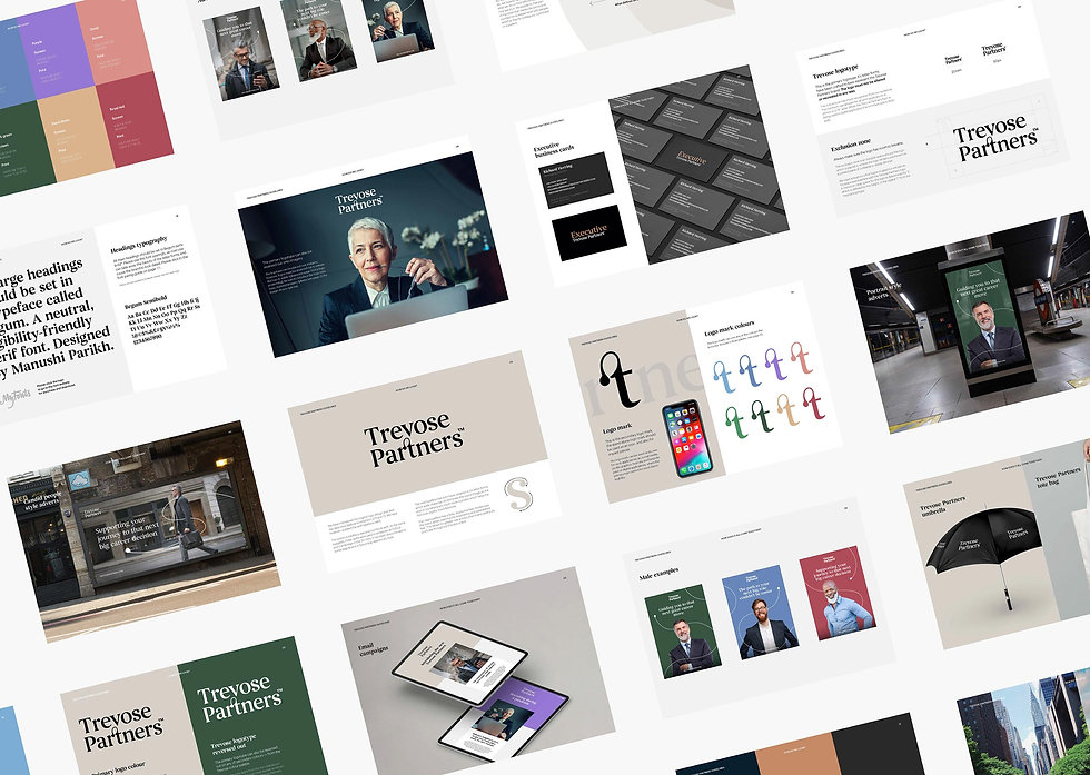 Trevose Partners brand guidelines
