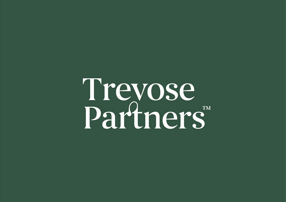 New Trevose Partners logo on a green background