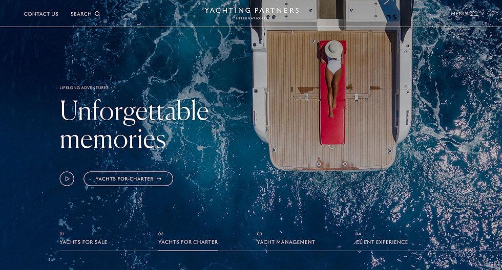 Homepage hero highlighting charter section