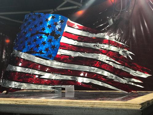 #CustomAF Tattered Flag Series