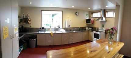 We have two fully equipped kitchens.