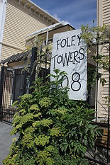 Foley Towers entrance