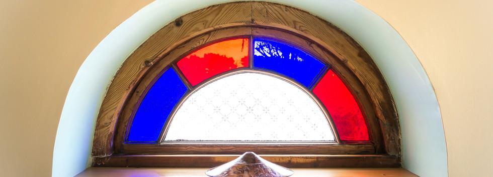 Delfryn Shell Cottage Entrance Hall Wind