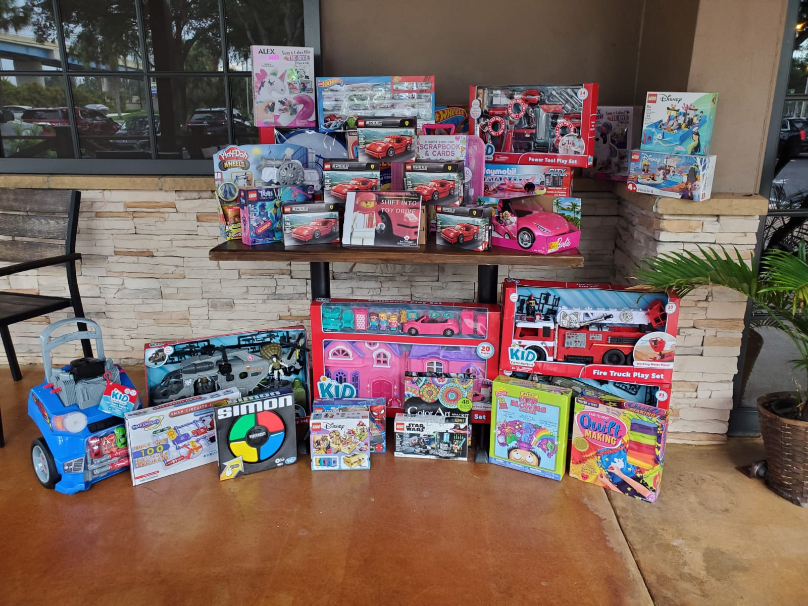 Shift into Toy Drive