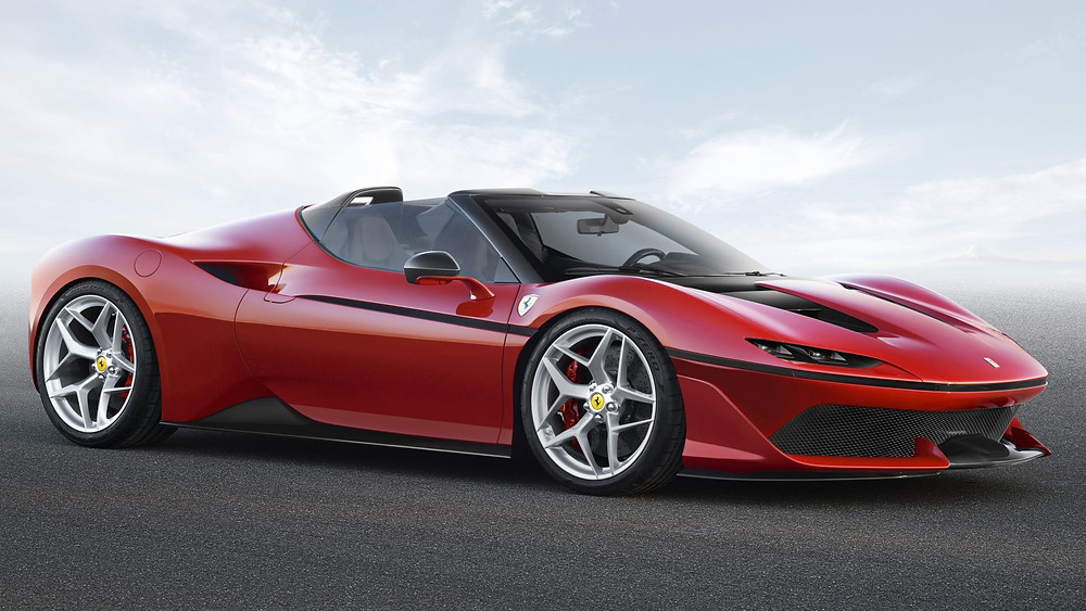 Limited edition F50-like targa supercar lands out of the blue. Want one?