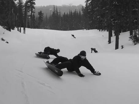 滑雪像衝浪,衝浪像滑雪,到底是滑雪還是衝浪啦...