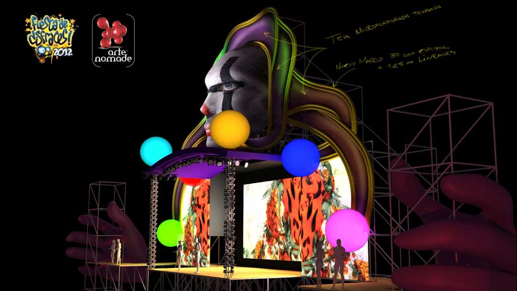 FDD 2012 - main stage 3d model