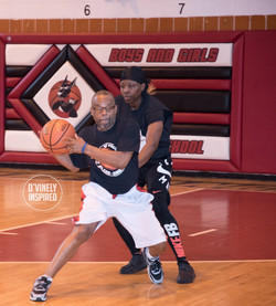 Clergy vs NYPD Basketball Game