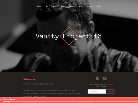 VP16  Website Cover