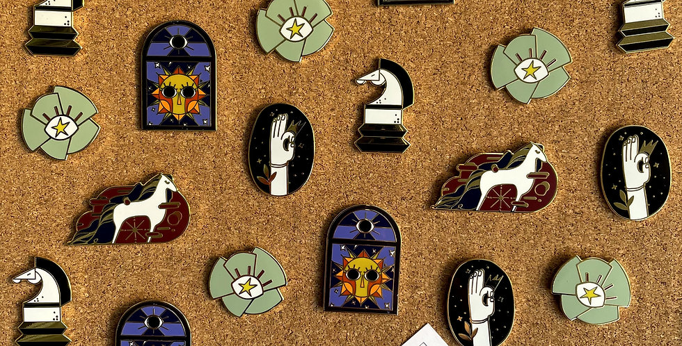 Maxi Pin Set (Pack of 5)