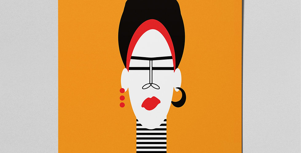 Quirky Lady Poster