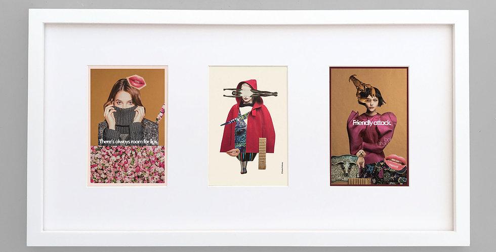 Collage Tri-frame