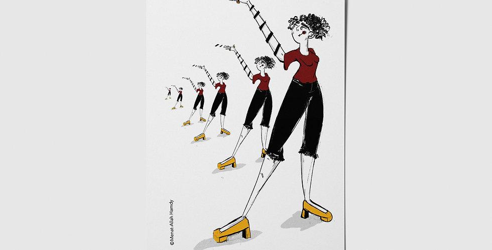Snakes & Ladders 03 Postcard