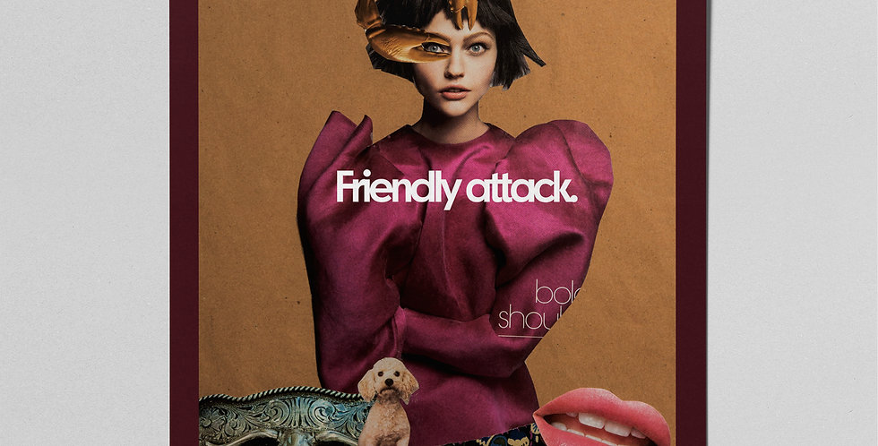 Friendly Attack Poster
