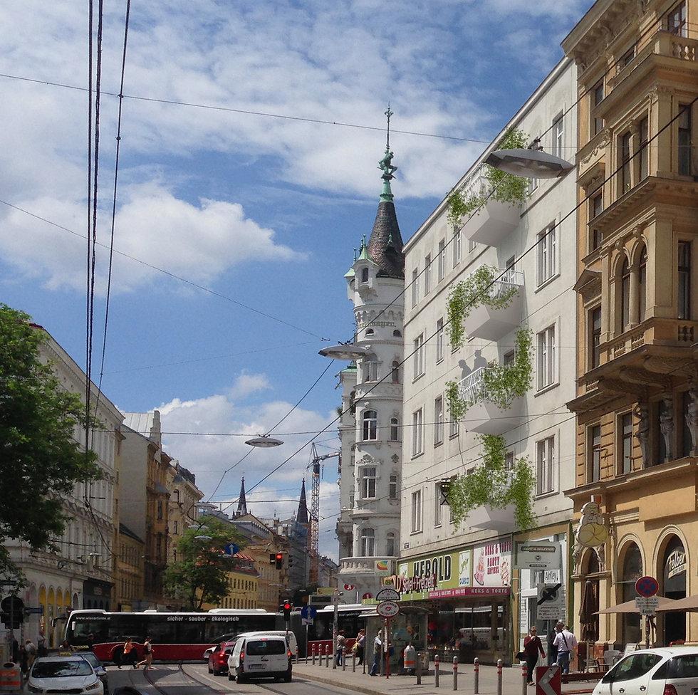 Wienbalkon bringt Grün in die Stadt!