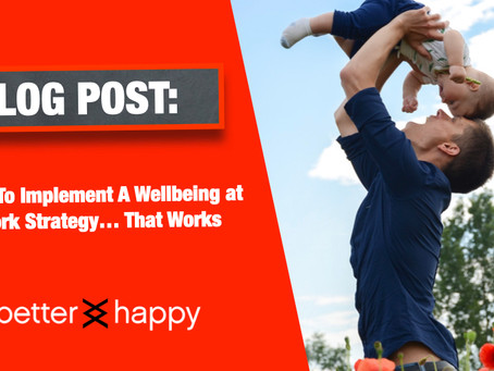 How to Implement A Wellbeing Strategy at... Work That Works