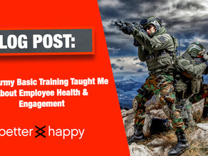 What Army Basic Training Taught Me About Employee Health & Engagement