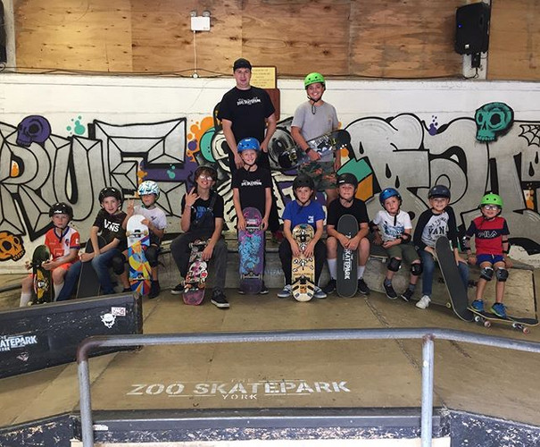 Another amazing skateboard school and ou
