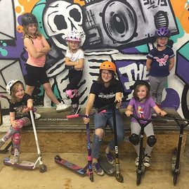 We had an excellent all girls scooter sc