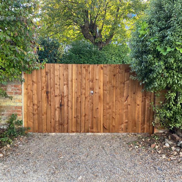Gate built in Southsea