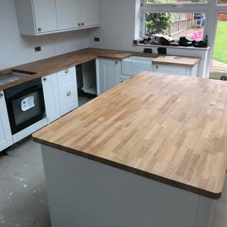 Kitchen instal