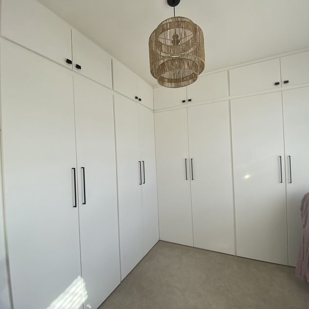 Very large built in wardrobes