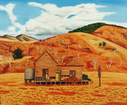 Contemporary Landscape Oil on Canvas