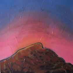 Josephine Allen Desert Hill sunset