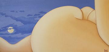 Russell Kent _Mude Series_ Moonlit Nude_
