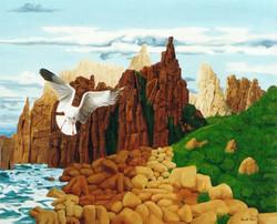 Cape Woolamai Oil on Canvas 1983