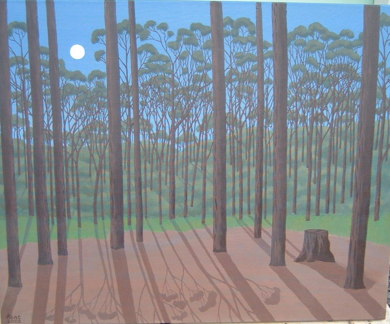 Won Wron Oil on Canvas 2002