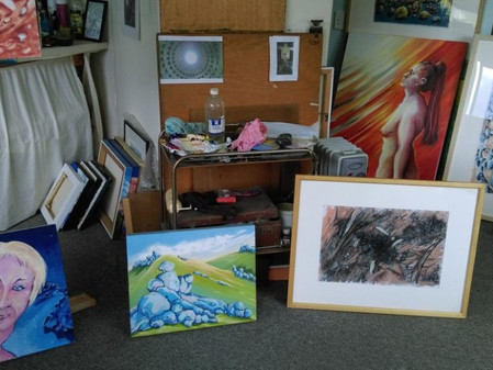 Selecting works for my exhibition