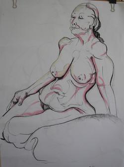 Josephine Allen Life drawing