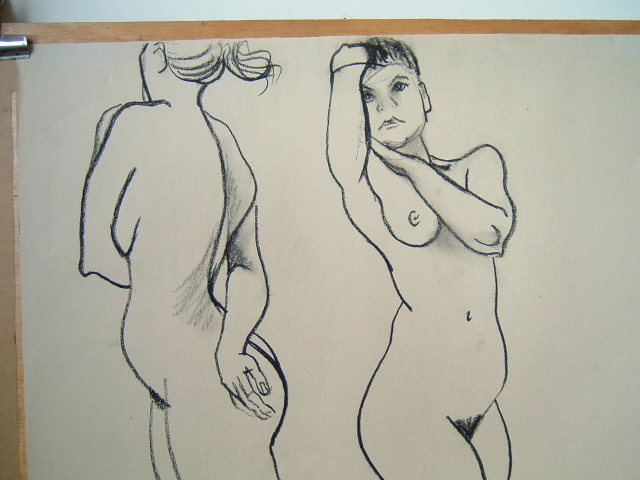 Russell Kent Life Drawing