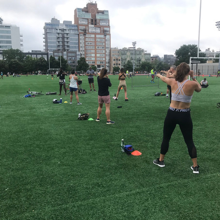 Outdoor Workouts in NYC
