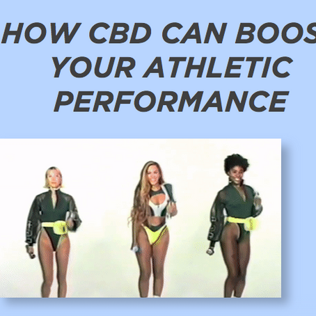 HOW CBD CAN BOOST YOUR ATHLETIC PERFORMANCE