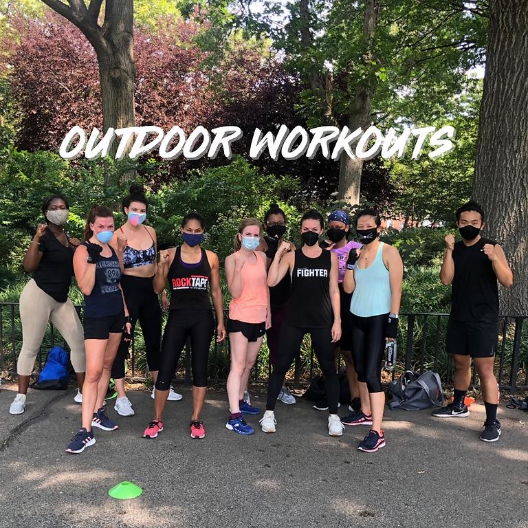 Outdoor Kickboxing & HIIT Workouts